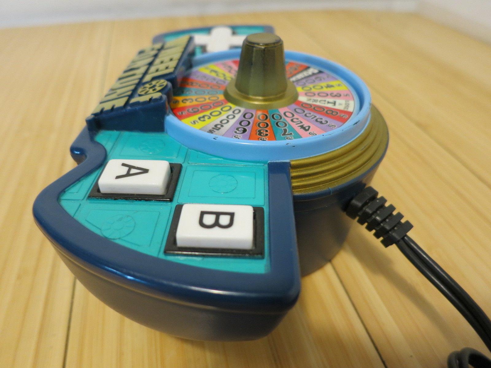 Wheel of Fortune TV Plug N' Play Jakks Pacific Video Game Tested & Working