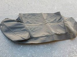 89-93 Jaguar XJS XJ-S Convertible Top Boot Canvas Cover - BLACK
