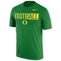 Nwt Men's Nike Oregon Ducks Dri-FIT Football Tee -Size Xl & Large - $21.99