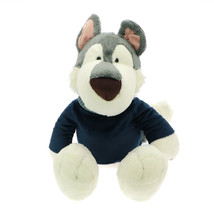 NICI Husky Boy Dog Stuffed Animal Plush Toy Dangling 20 inches 50 cm - $48.00