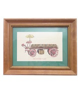 "Vintage The Brewery Wagon Small Print Framed 8.5"" x 6.5""  - $29.99"