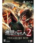 Attack on Titan Shingeki no Kyojin PS4 TREASURE BOX JAPAN PlayStation 4 ... - $179.98