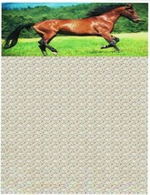 Trotting Horse Stationery Printer Paper 26 Sheets - $10.44