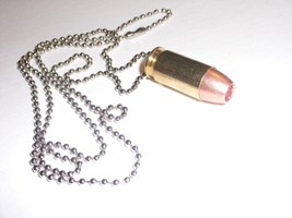 Bullet Necklace Neck Chain .45 ACP Hollow Point... - $8.90