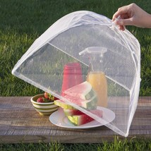 Pop Up Mesh Screen Food Large Cover Bug Protector Covers Outdoor w Clamp... - $29.01