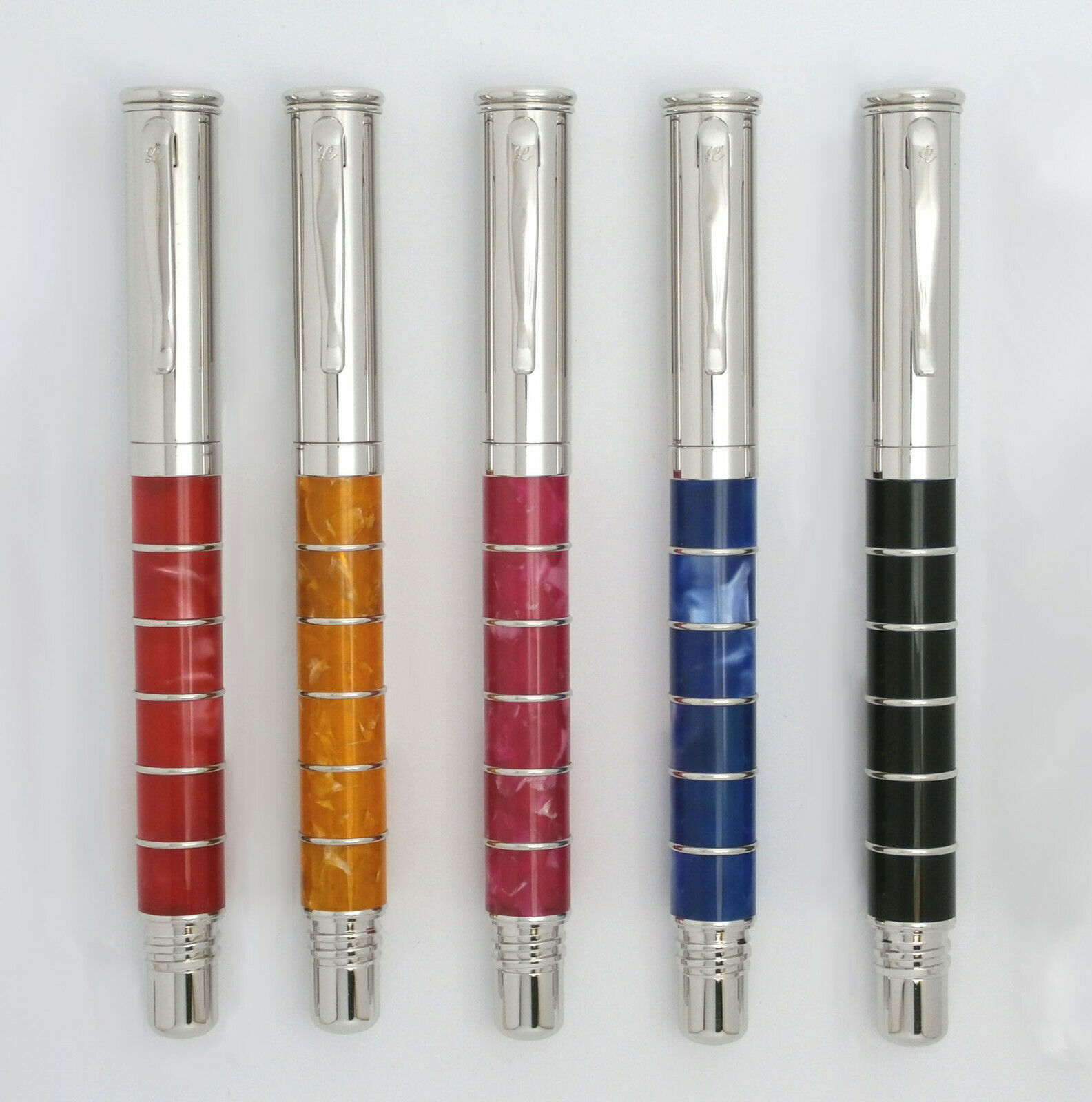 Primary image for Laban Ring Pen Rollerball + Free Gift Box, + 2 Refills, Free Shipping!