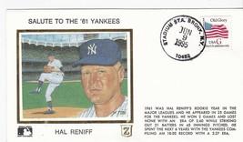 SALUTE TO THE 61 YANKEES HAL RENIFF STADIUM STA. BRONX NY JUN 9 1995 Z S... - $2.98