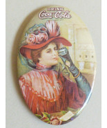 VTG 1973 Drink Coca Cola Advertising small Pocket Mirror - $27.72