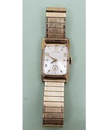 Hamilton Cranston Vintage Manual Wind Watch Gold-Filled 1950s RUNS - $393.62