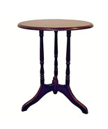 Cherry finish round accent table or plant stand ORE H-8 - $44.31