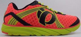 Pearl Izumi EM Road H 3 Women's Running Shoes Size US 8 M (B) EU 39 Pink Yellow