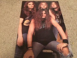 Kreator teen magazine poster clipping Rock band Rockline ripped jeans Bravo