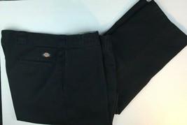 Dickies Mens 874 Black Twill Original Fit Work Pants 44 30  - $19.99