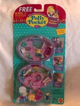 Vintage Polly Pocket Unicorn Meadow Purple Compact NEW & SEALED MOC 1995... - $249.99