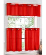 Jackson Grommet Top Cafe Curtain Tier and Valance Set  - $24.99