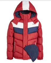 CB Sports Big Boys 2-Pc. Colorblocked Puffer Jacket & Hat Set s/c 8 - $31.68