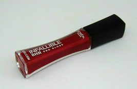 L'oreal Infallible 8Hr Pro Gloss Lipgloss 0.21oz./ 6.3ml Choose Shade - $6.95