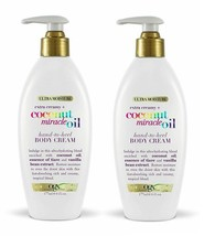 (2 Pack) OGX Extra Creamy Coconut Miracle Oil Hand-to-Heel Body Cream 6 ... - $23.75
