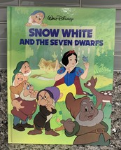 PREOWNED MAGNA BOOKS WALT DISNEY COMPANY 1988 SNOW WHITE AND THE SEVEN D... - $50.00