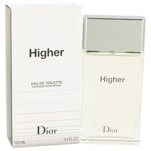 Christian Dior Higher 3.4 Oz Eau De Toilette Cologne Spray image 6