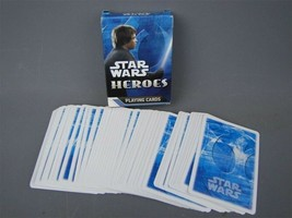 2008 Star Wars Heroes Playing Cards 56 Card Deck Poker Card Games - $2.80