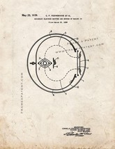 Secondary Electron Emitter and Method Of Making It Patent Print - Old Look - $7.95+