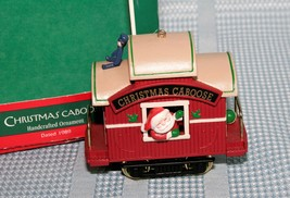Hallmark Keepsake Christmas Caboose ~ Here Comes Santa Ornament 1989 - $13.75