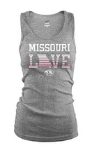 NCAA Missouri Tigers Junior Classic College Logo Ribbed Tank Top, Small - $13.03 CAD