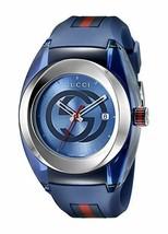 Gucci Stainless Steel WYNC Quartz Mens Watch YA137104 - $525.00 CAD