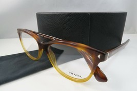 Prada Women's Tortoise Eyeglasses with Case 52mm VPR 14R TKU-1O1 - $76.95
