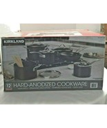Kirkland Signature Hard Anodized 12 Piece Cookware Set - $167.20