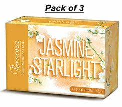 Amway Persona Cream Moisturizing Soap Jasmine Starlight Pack of 3 - 75gm... - $19.99