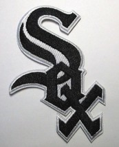 """Chicago White Sox Embroidered PATCH~3 3/8"""" x 2 5/8""""~Iron Sew On~MLB~Ships FREE - $4.75"""
