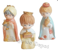 HOMCO Wise Men Trio Set Children Carrying Gifts For Baby Jesus - $16.99