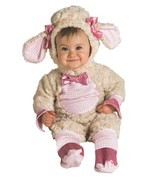 Rubies Lucky Lil' Lamb Animal Adorable Infant Baby Halloween Costume 885354 - $24.99