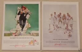 Magazine Ad Smirnoff Vodka w/ Buddy Hackett White Christmas Vintage 1965 2 Page - $5.93