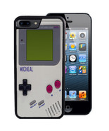 PERSONALIZED CASE FOR iPHONE X 8 7 6 5 SE 5C PLUS RUBBER GAME BOY RETRO ... - $13.98
