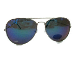 Sprite Green Aviator Sunglasses Silver UV Protection - BRAND NEW - $5.69