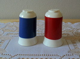 Durabrite California Plastic Salt and Pepper Shakers Vintage Retro - $24.72