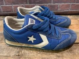 CONVERSE Nylon Trainer OX Shoe Size Men's 6.5 Women's 8.5 Blue Style # 1... - $24.74