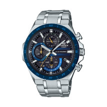 Casio Edifice Black Chronograph Dial Stainless Steel Watch - $145.80