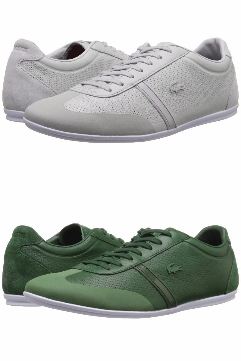 0a8cdc42d4c3 LACOSTE (Leather) Mens Sneaker Shoe! Reg$150 and 50 similar items