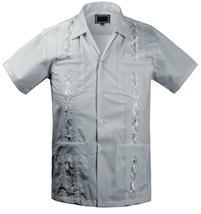 Guayabera Kids Toddler Junior Beach Wedding Baptism Button-Up Casual Dress Shirt image 9