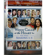 When Calls The Heart The Series Seasons 1-5 Brand NEW 12 DVDs 56 TV Epis... - $75.37