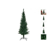 9' 8' 7' 6' or 5' Green Slim Artificial Christmas Tree w/ Stand Space Sa... - $37.98+