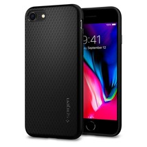 Spigen iPhone 8 Case iPhone 7 Liquid Air Armor Black - $14.01