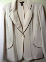 Tracy Evans Cream Women Pants Suit Who's Tracy 2 Pieces - $36.95
