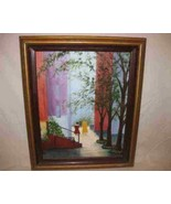 """Neat Oil Painting 19"""" X 24"""" On Canvas By KARR - $57.87"""