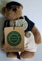 Boyds Bears Lou Bearig  Jointed Plush Bear baseball Bat The Archive Coll... - $8.90