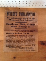 BUTLER'S PROCLAMATION NEW ORLEANS REPRODUCTION                          ... - $9.74